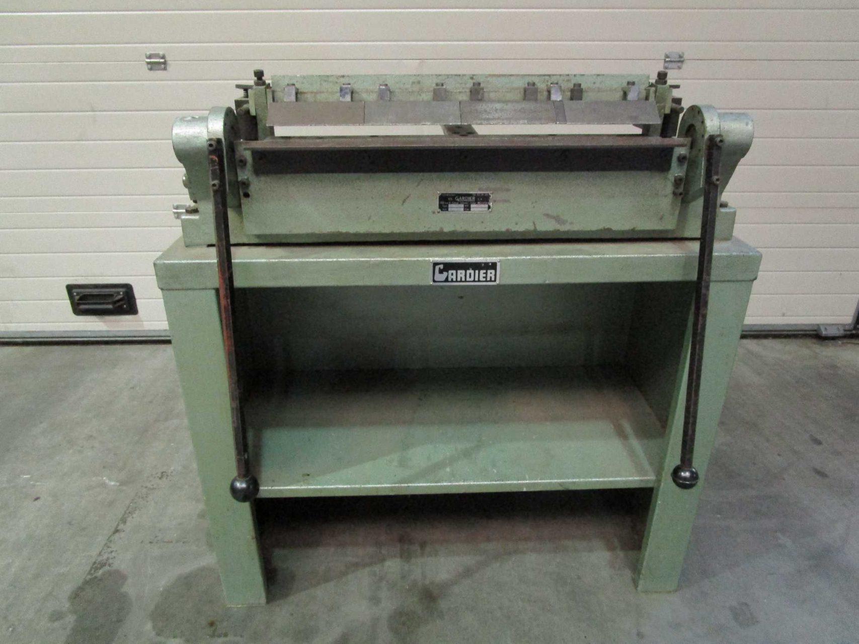 Gardier Foldingmachine