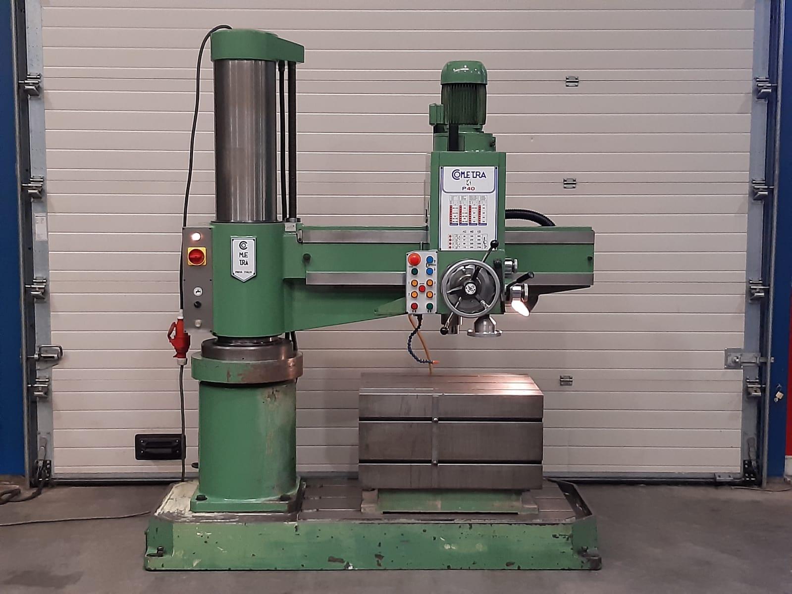 Radial drillpress